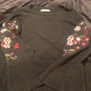 Loft bell sleeve sweater